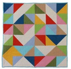 Abstract Baby Quilt