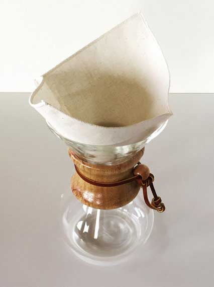 Re-usable Organic Coffee Filter