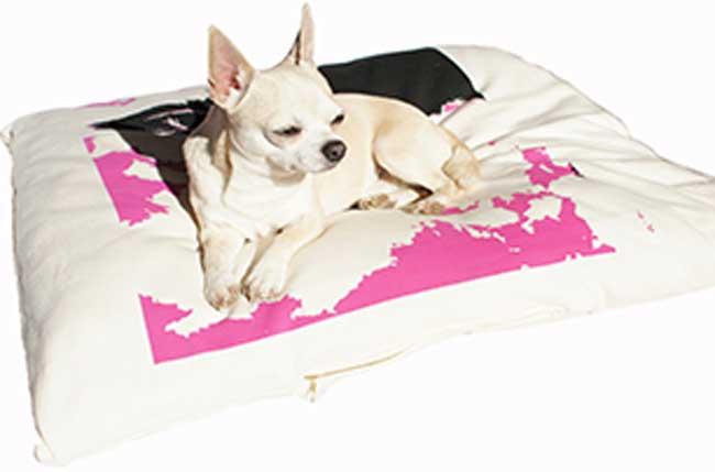 Organic pet bed.