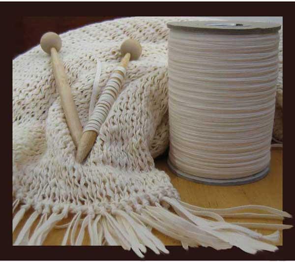 Organic cotton shawls hand-knitted by Montagnard women $225.00