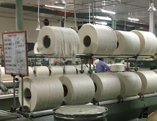 Lint-rolls-pre-roving